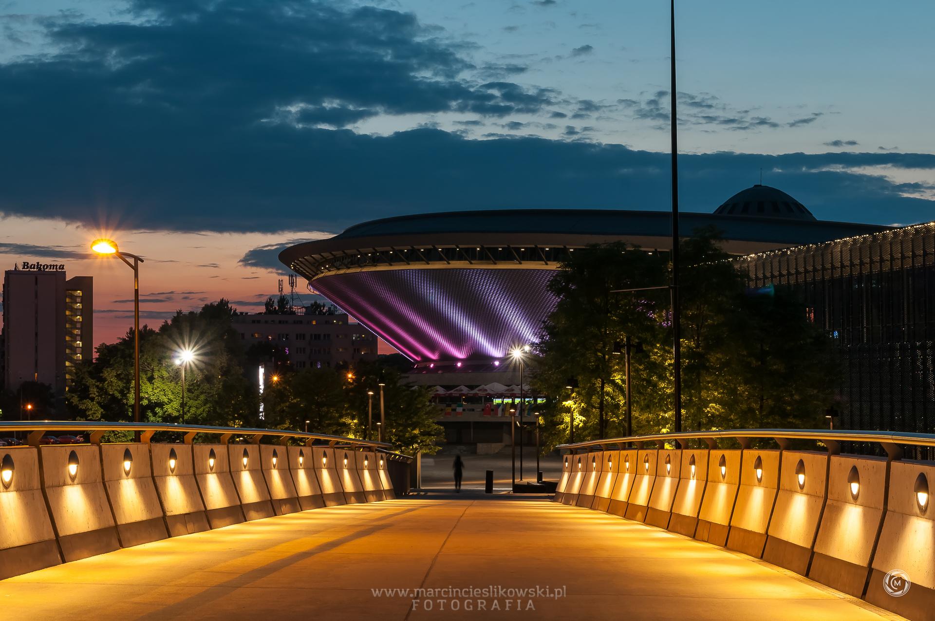 Katowice noca