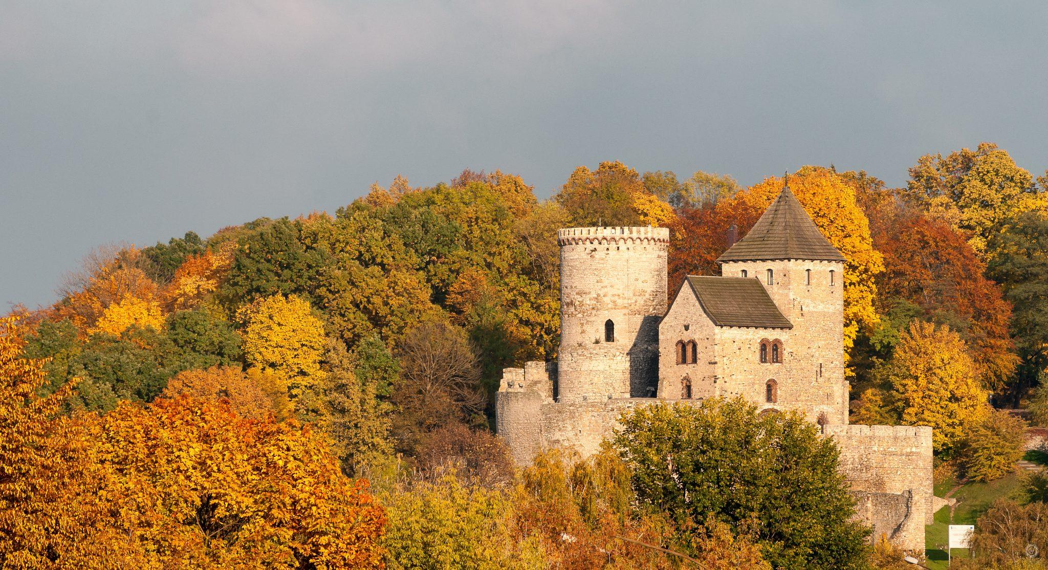 Jesień na zamku